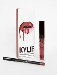 Kylie Velvet Lip Kit in Poison Berry