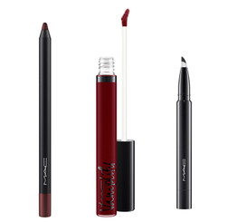 Mac Black Plum Lip Kit