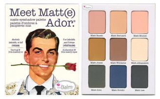 theBalm Meet Matt(e) Ador Eyeshadow Palette (Unboxed)