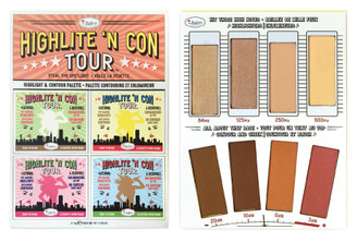 theBalm Highlite 'N Con Tour Face Palette (Unboxed)