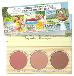 theBalm Girls Getaway Trio Cheek Palette