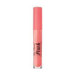 Too Faced Sweet Peach Creamy Peach Oil Lip Gloss in Pure Peach