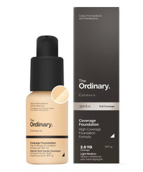 The Ordinary Coverage Foundation SPF15 in 2.0YG Medium
