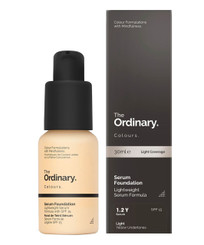 The Ordinary Serum Foundation SPF15 in 1.2YG Light