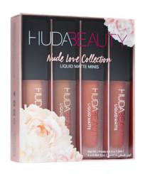 Huda Beauty Liquid Matte Minis: The Nude Love Edition