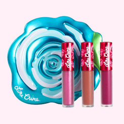Lime Crime Blue Rose Velve-Tin Mini Lip Set