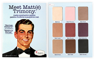 theBalm Meet Matt(e) Trimony Eyeshadow  (Unboxed)