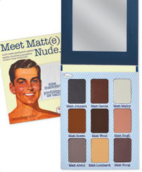 theBalm Meet Matt(e) Nude Eyeshadow Palette (Unboxed)