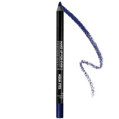 MUFE Aqua Eyes Eyeliner in Iridescent Navy Blue