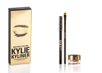 Kylie Birthday Kyliner Kit in Dark Bronze