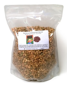 Vietnamese Buon Me Thuot Excelsa coffee, green unroasted ##for 1lb (larger sizes available)##