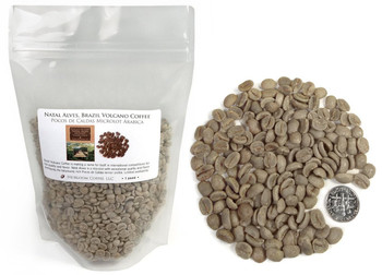 Brazil Santa Izabel green unroasted beans ##for 1lb (larger sizes available)##