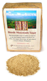 Muscovado Sugar, raw, organic, from the Philippines ##for 4oz##