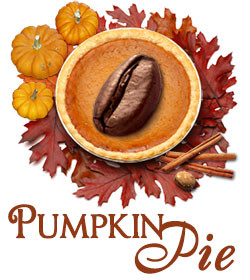 Pumpkin Pie Coffee, all natural pumpkin and spices ##for 8oz##