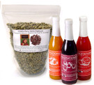 Available in three flavors ##for 1lb green Costa Rica coffee plus detailed instructions and 16 oz Fruitations syrup##