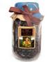 Peru Arabica Glass Pack Coffee ##for 12oz, fresh-packed in sturdy glass jar##