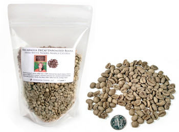 Nicaragua El Recreo from the Jinotega Region green unroasted beans ##for 1 pound##