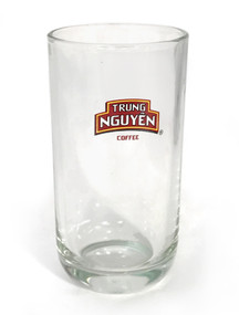 Trung Nguyen Logo-Embossed Iced Coffee Glass##free with any order over $20; add to your cart##