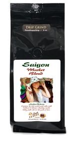 Saigon Market Blend Arabica Robusta Coffee##for 8 oz, whole bean or ground##