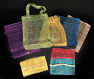 Woven bags##3 bags and one wallet pouch - FREE with any purchase!##