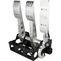 Pro-Race Universal Floor mount cockpit oriented master cylinders - drive by wire