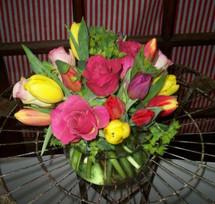 Tulips + Roses = LOVE