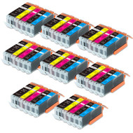 40-Pack Compatible Ink w/ Chip for Canon PGI-250XL / CLI-251XL