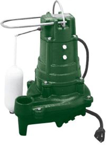 Zoeller M137 15V Cast Iron Automatic Effluent Pump