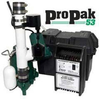Zoeller Model 508-0006 Preassembled Sump Pump with Battery Backup & M53 Pump