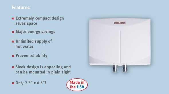Stiebel Eltron Mini 4 Tankless Electric Water Heater - 220 Volt