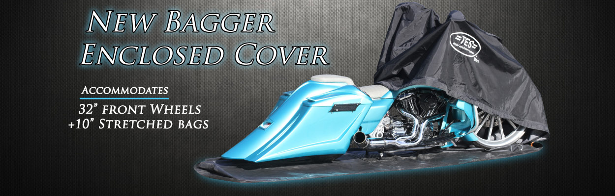 Bagger Cover, Stretched Bagger, Waterproof Cover,