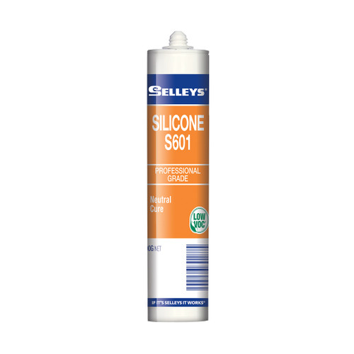 Selleys Silicone S601 White 300G