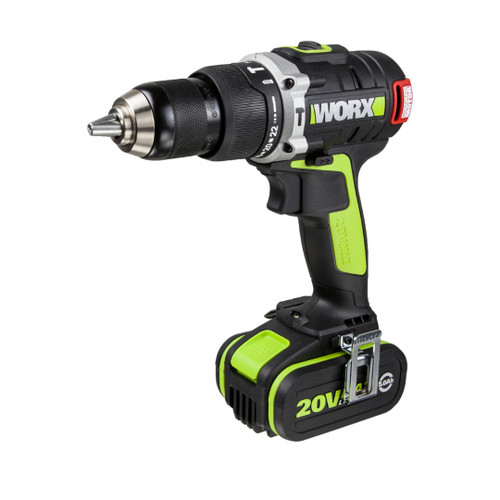 Worx 20V Max Li-Ion Brushless Impact Drill (Wu309)