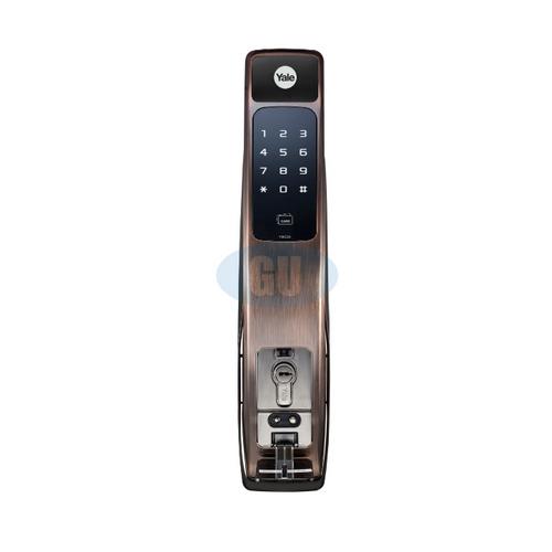 YALE BIOMETIC PUSH & PULL DIGITAL DOOR LOCK YMG40
