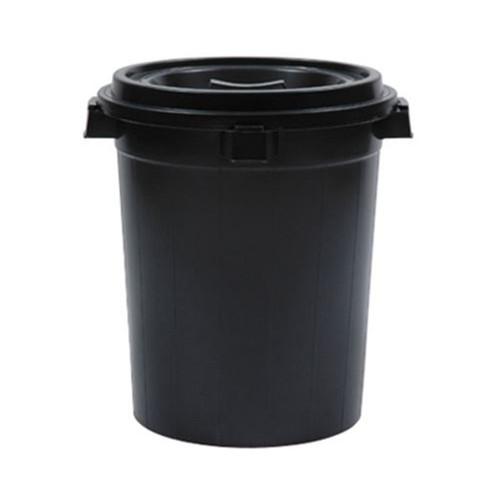 NCI 2160/B Dustbin W/Cover (Black)