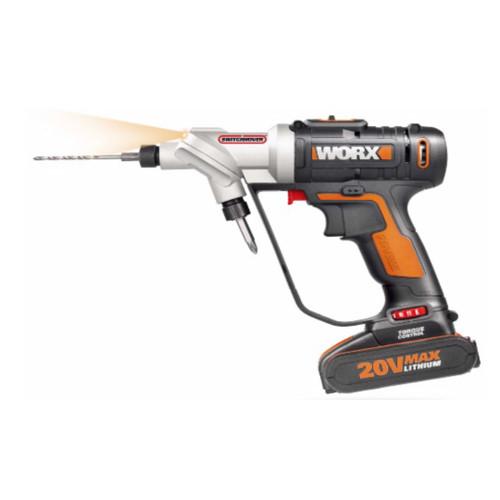 Worx WX176 20V Switch Drill Driver Set 16Pc Drill Bit Set