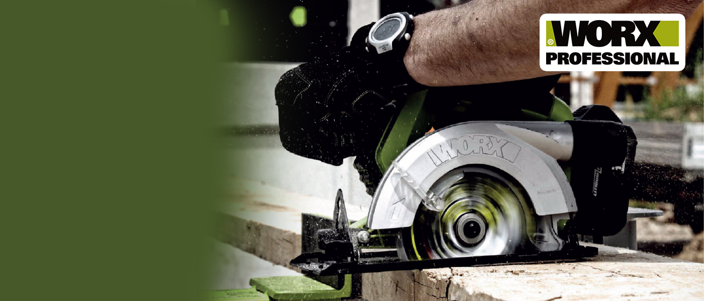 Worx - It's Your Nature! The most versatile Machine in the World