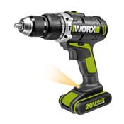 Worx 20V Max Li-Ion Impact Drill (Wu310)