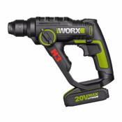 Worx 20V Max Li-Ion 3 In 1 Rotary Hammer (Wu390)