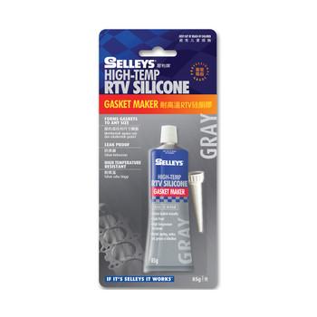 Selleys High-Temp Rtv Silicone (Gray) 85G