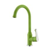 Ph2016-5Al Chrome & Green Kitchen Mixer