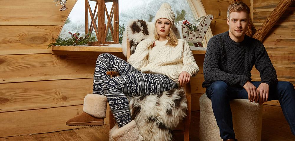 Christmas Aran Irish Sweaters Collection