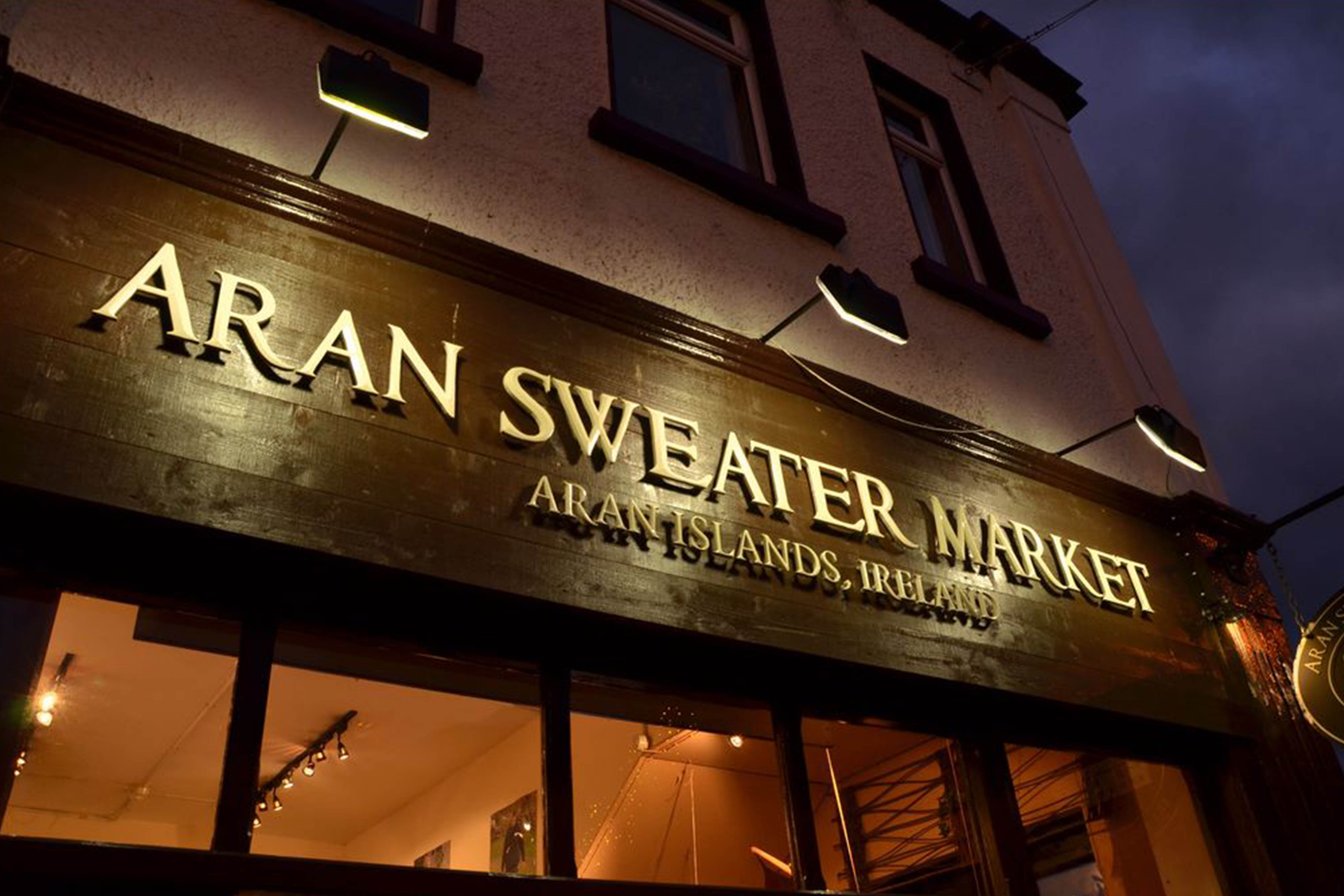 Aran Sweater Market Killarney on College St. in town centre