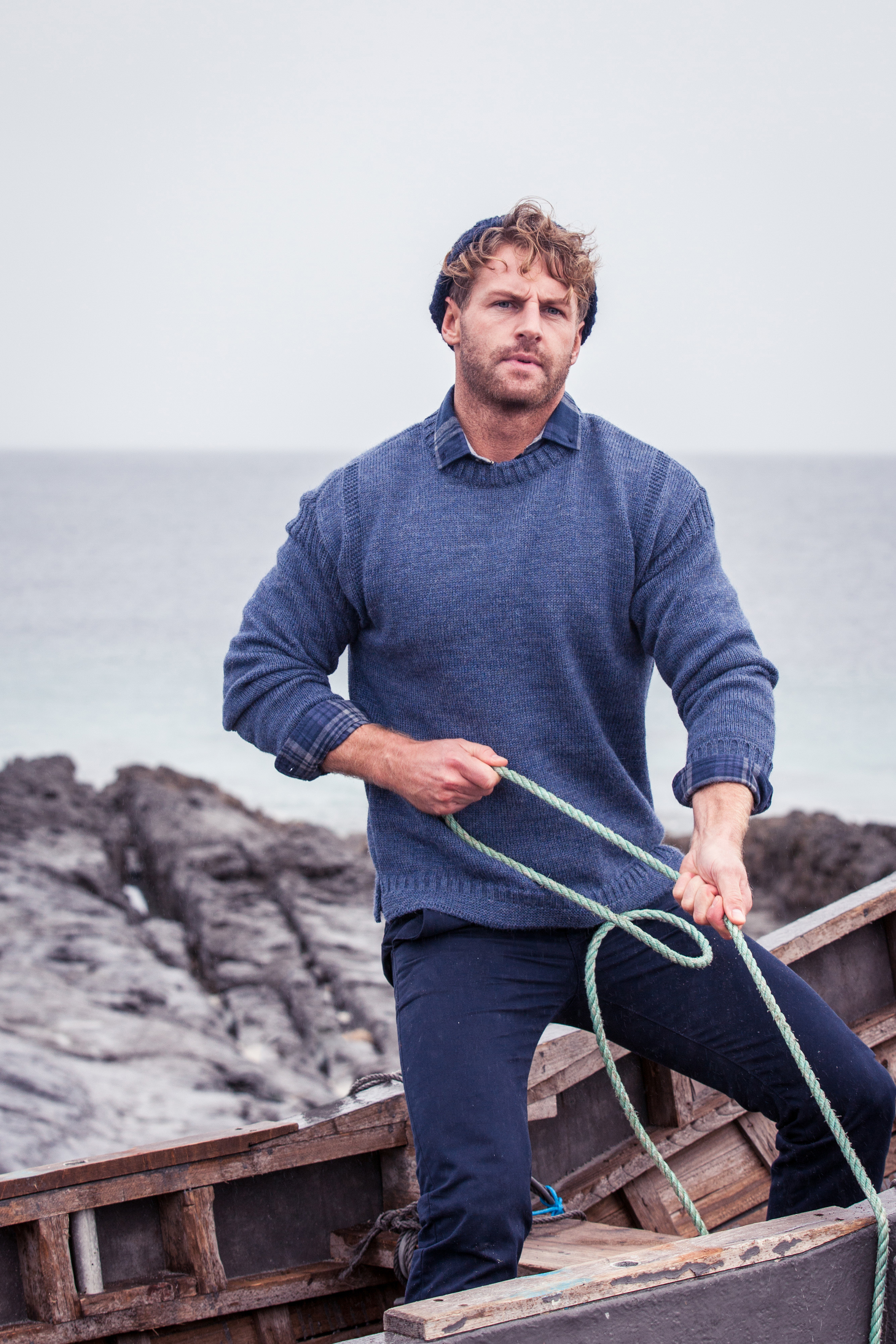 Irish Aran Fisherman Sweaters - steeped in our island history