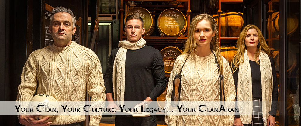 Clan Aran Sweaters - Irish Heritage Clan Aran Sweaters
