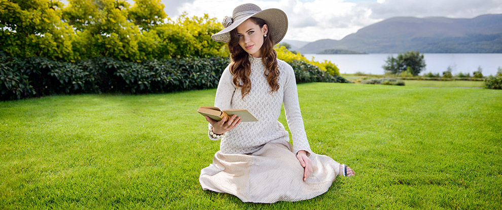 Womens Luxury Aran Sweaters & Irish Cardigans