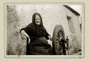 Traditional Aran sweater production: from the Aran Sweater Market, Ireland