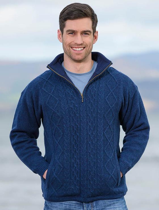 Windproof Wool Sweater 111