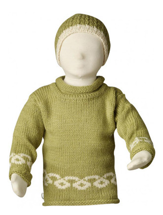 Kid's Celtic Roll Neck Sweater