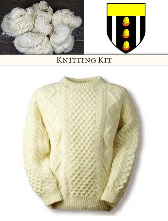 Knitting Pattern Kits : Kelleher Knitting Kit